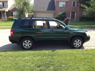 2003 Toyota Highlander Limited V6 Automatic 4wd Loaded photo