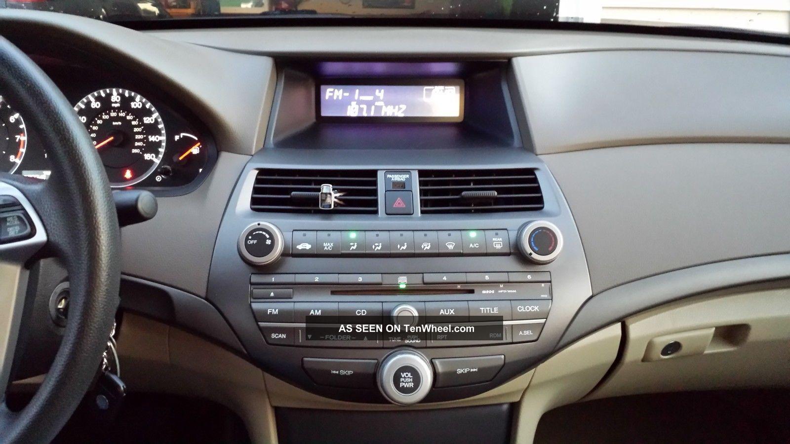 2008 Honda Accord Lx - P Sedan Till 2015