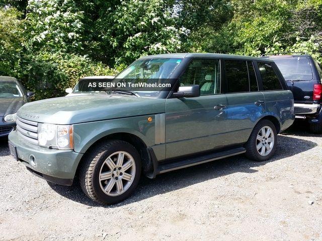 2005 Land Rover Range Rover Hse Sport Utility 4 - Door 4.  4l Range Rover photo