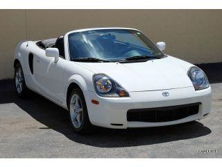 2002 Toyota Mr2 Spyder Base Convertible 2 - Door 1.  8l photo