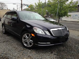 2011 Mercedes - Benz E350 4matic Wagon 4 - Door 3.  5l photo