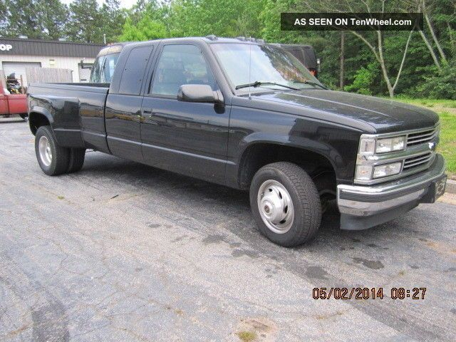 1996 chevrolet 3500 silverado dually extended cab. Black Bedroom Furniture Sets. Home Design Ideas