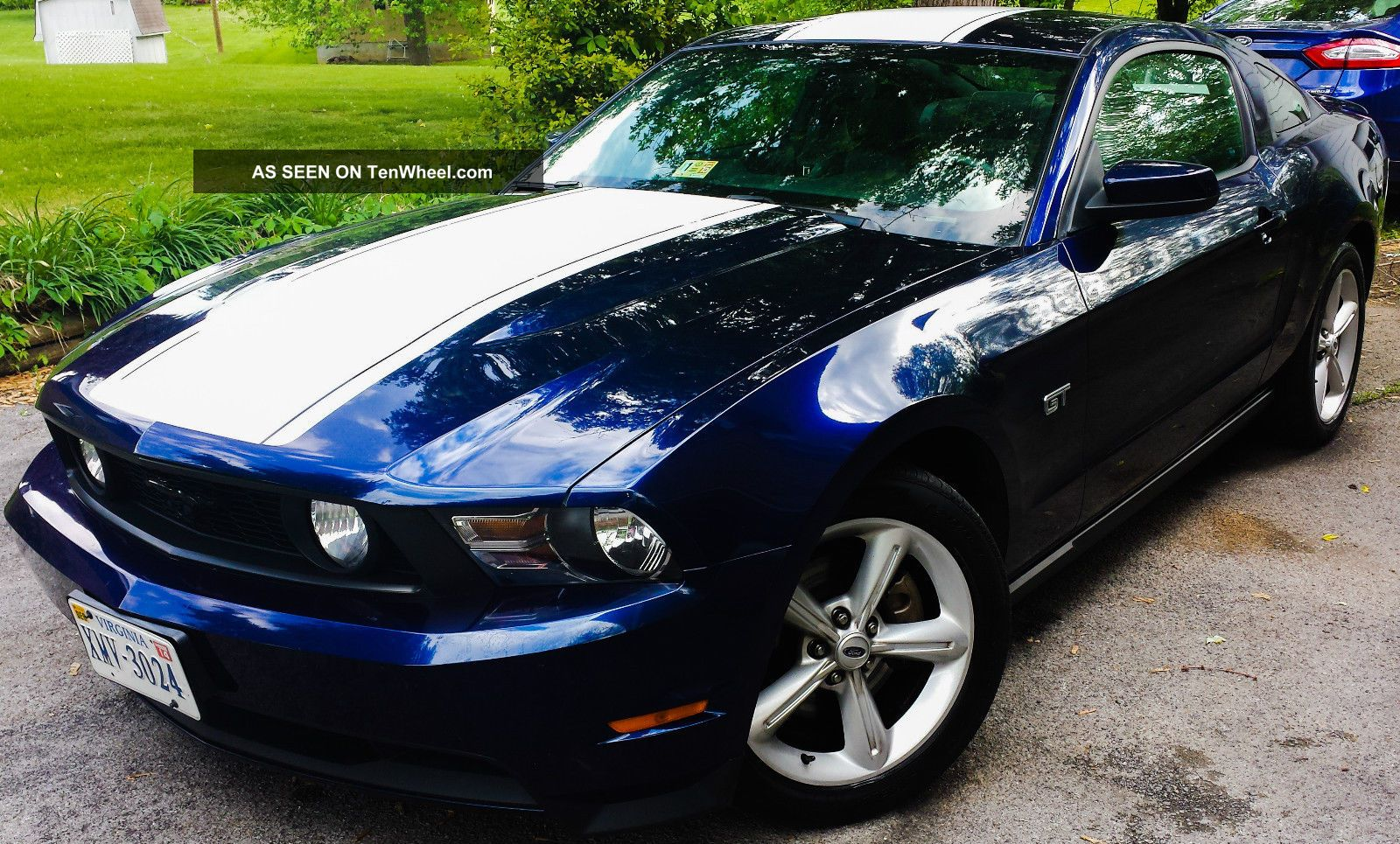 2010 ford mustang gt premium loaded. Black Bedroom Furniture Sets. Home Design Ideas