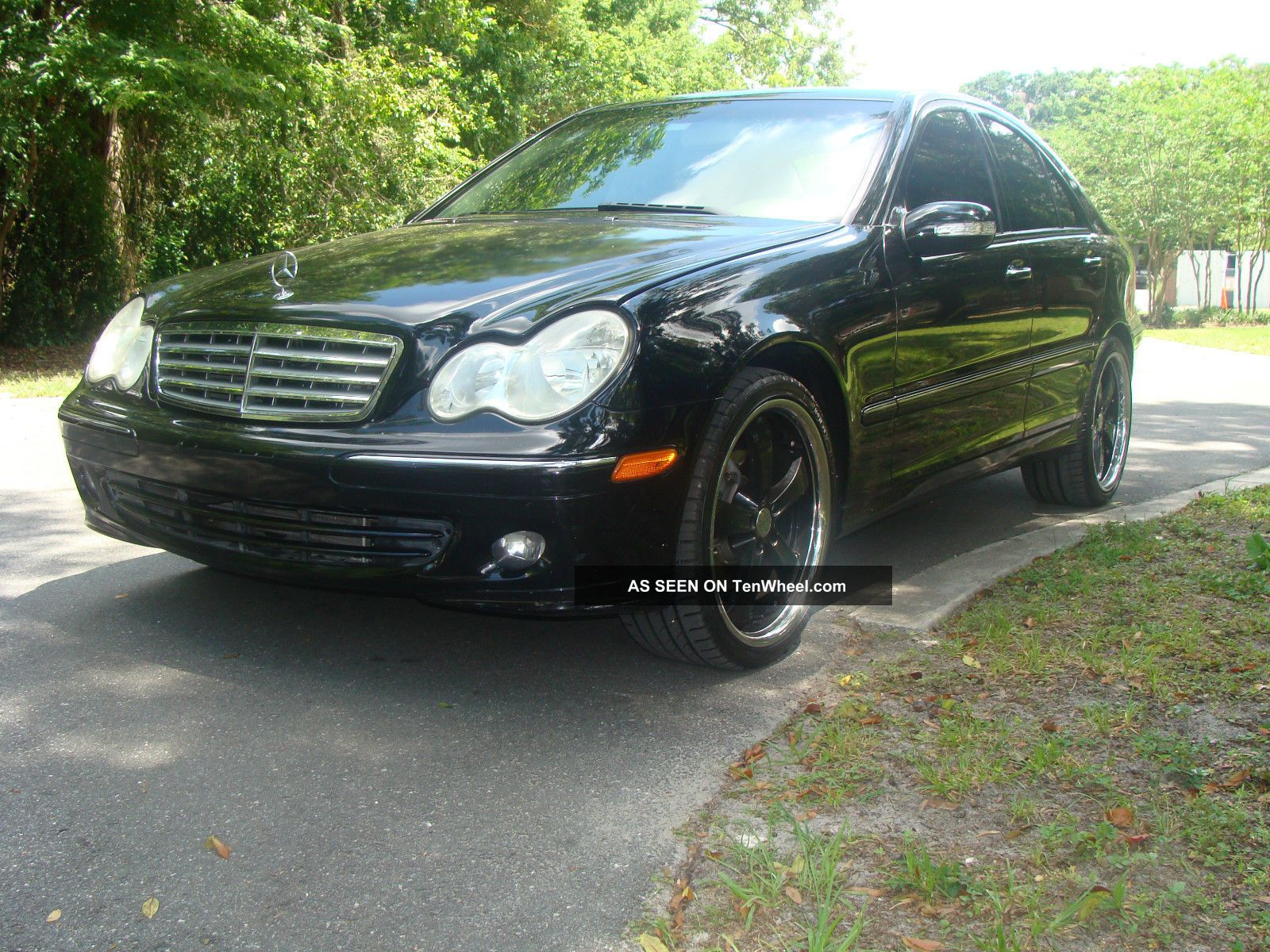 2007 Mercedes - Benz C280 4matic Sedan 4 - Door 3.  0l C-Class photo
