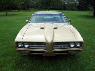 1969 Pontiac Gto Complete Frame On Restoration photo