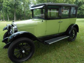 1926 Chevy Touring Sedan photo