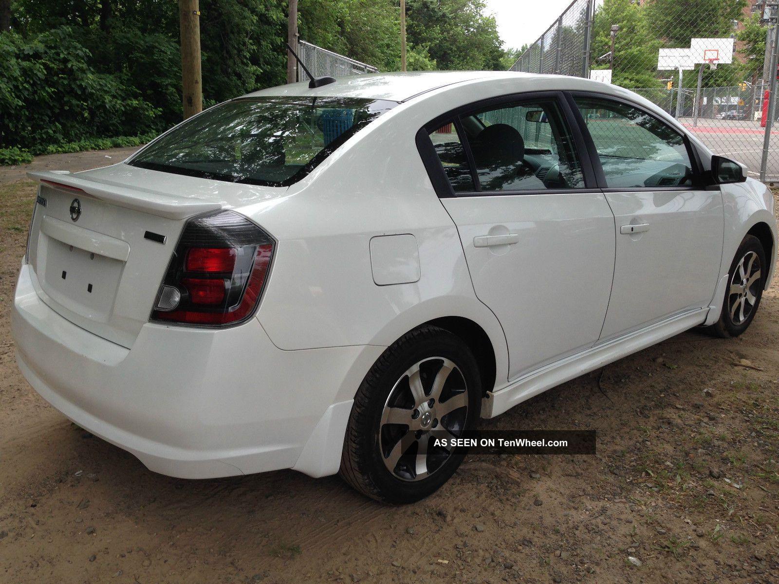 2012 Nissan Sentra Sr Sedan 4 Door 2 0l