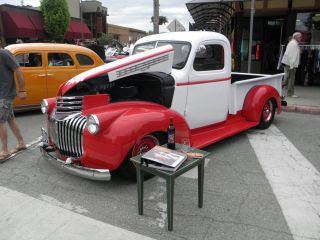1946 Custom Chevy Pickup Truck,  Ground Up Rebuild With Custom Paint And Interior photo