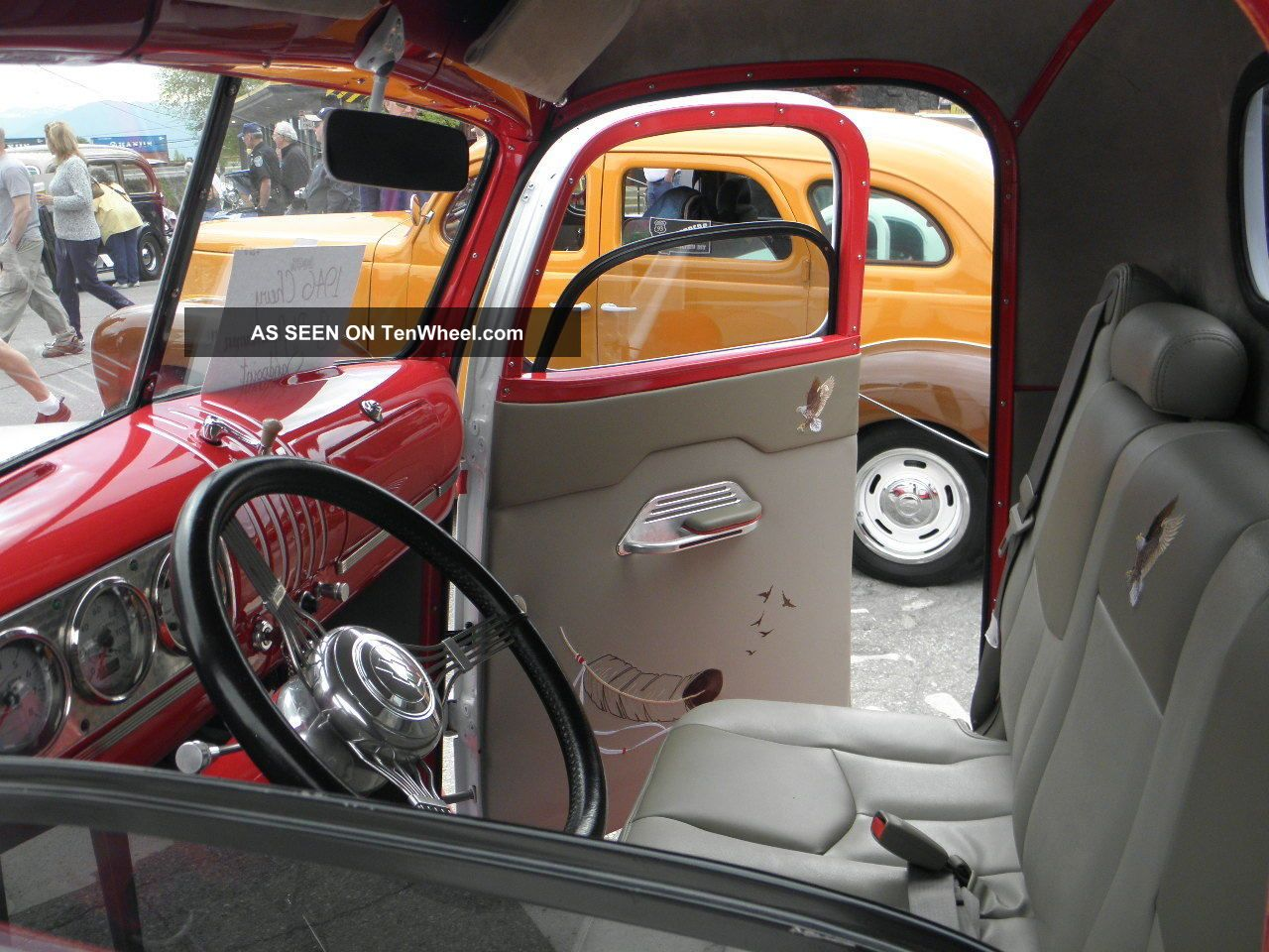 1946 custom chevy pickup truck ground up rebuild with custom paint and interior. Black Bedroom Furniture Sets. Home Design Ideas