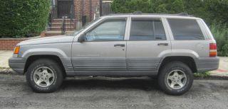 1998 Jeep Grand Cherokee Laredo 6 Cyl Automatic Metallic Green 4 - Door Suv 98k photo