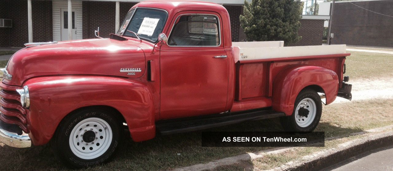 1949 Chevy 3600 P / U 70% 15% Modified Other Pickups photo