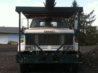 1987 Gmc Topkick 70 ' Hi - Ranger Bucket Truck 8.  2l Detroit Diesel photo