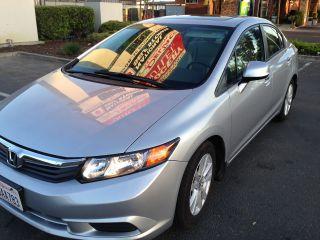 2012 Honda Civic Ex Sedan 4 - Door 1.  8l photo