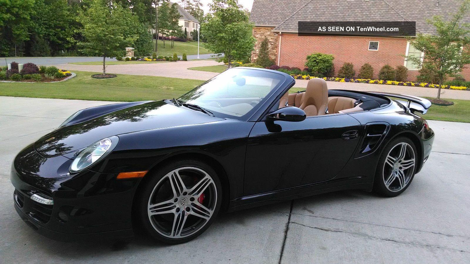 2008 porsche 911 turbo convertible 2 door 3 6l. Black Bedroom Furniture Sets. Home Design Ideas
