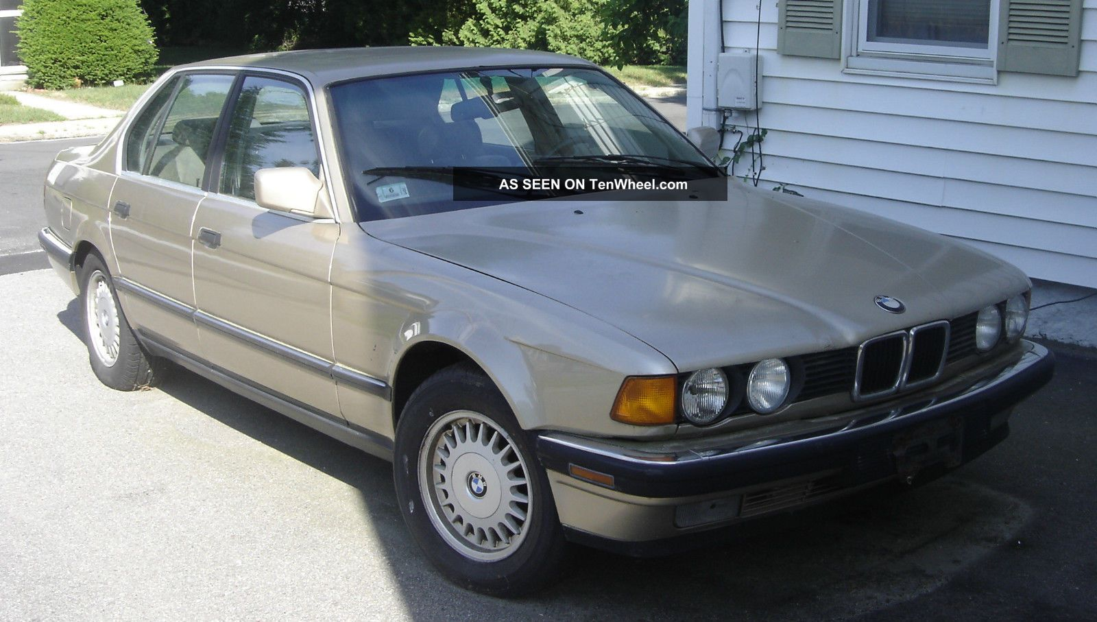 1992 Bmw 7 Series (same Model Car John Candy Drove In Cannonball Run 3) Rare 7-Series photo