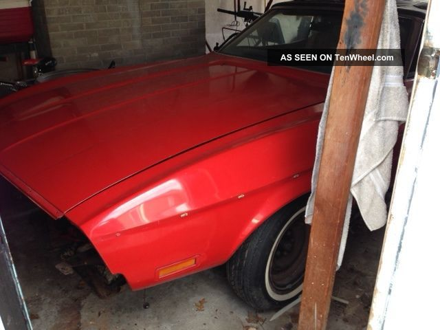 1971 Mustang Convertible Since 1972,  Drive Train. Mustang photo
