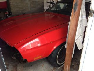 1971 Mustang Convertible Since 1972,  Drive Train. photo