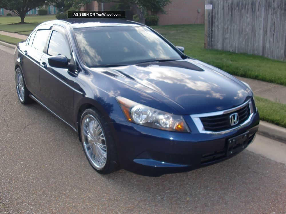 2009 Honda Accord Lx Sedan 4 Door 2 4l