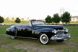 1947 Lincoln Continental Convertible photo