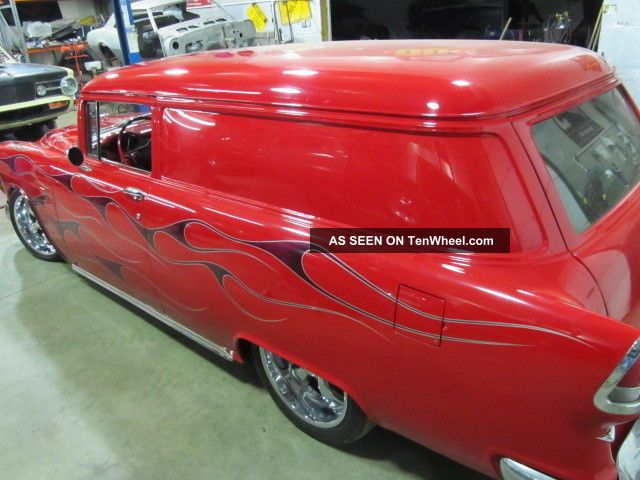 1955 Chevrolet Sedan Delivery Custom Show Car Winner Not Nomad 55 Chevy 327 Bel Air/150/210 photo