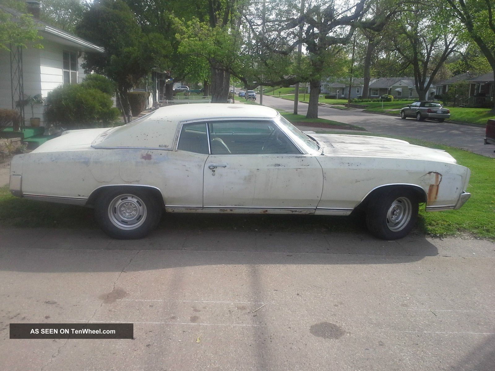 1970 Monte Carlo 350 Drag Car. Project Chevy Ac