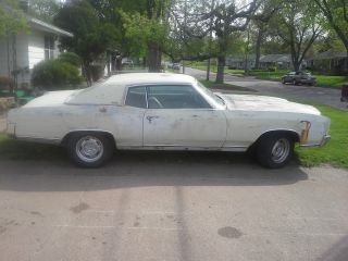 1970 Monte Carlo 350 Drag Car.  Project Chevy Ac photo