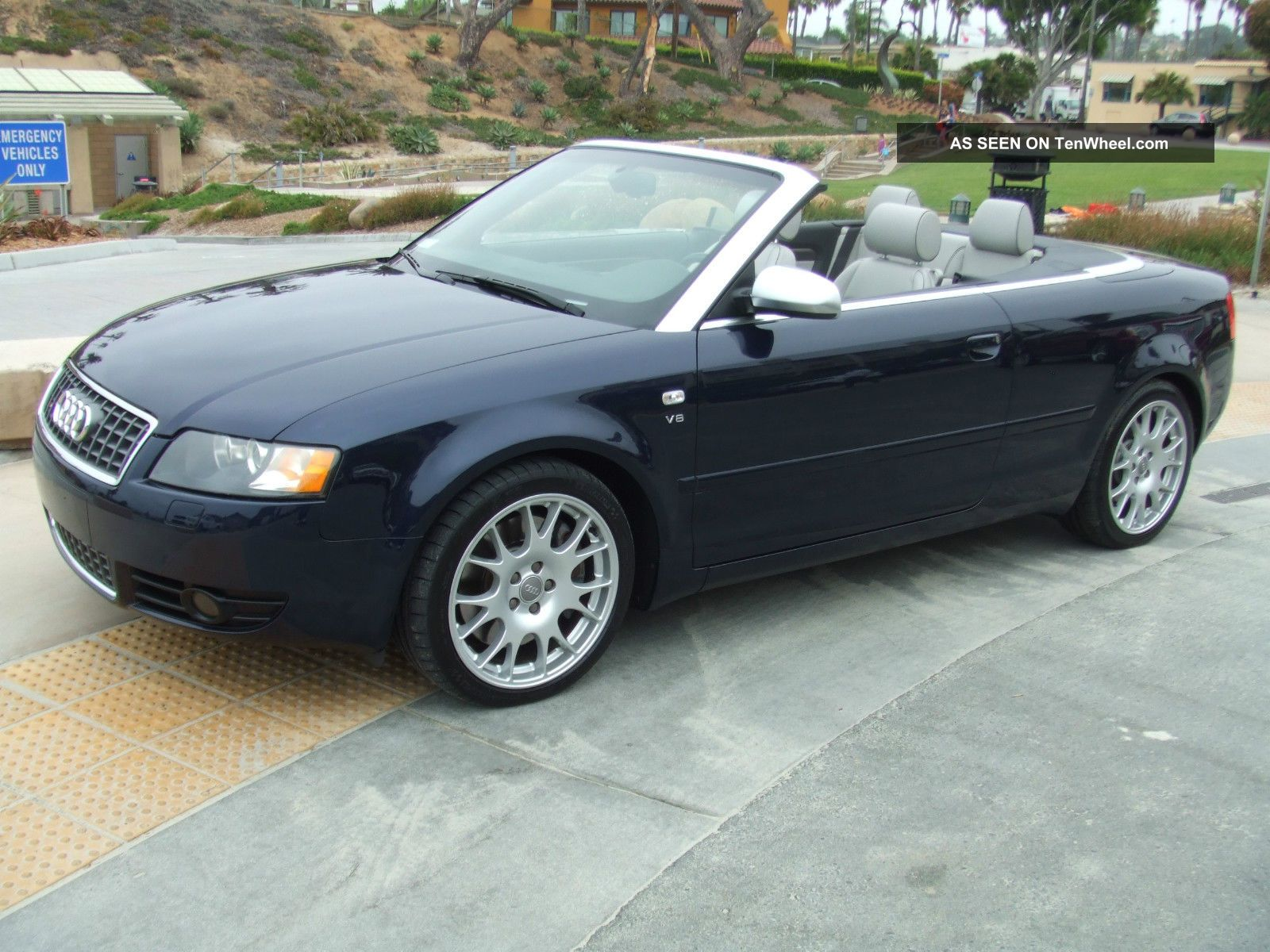 2006 Audi S4 Cabriolet Convertible 2 - Door 4.  2l S4 photo