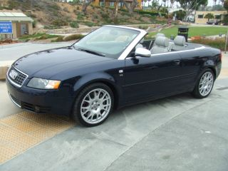 2006 Audi S4 Cabriolet Convertible 2 - Door 4.  2l photo