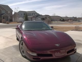2003 50th.  Anniversary Corvette,  Coupe In Condition. .  Loaded With It All photo