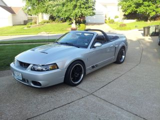 2004 Ford Mustang Svt Cobra Convertible 2 - Door Whipple Charged Supercar photo