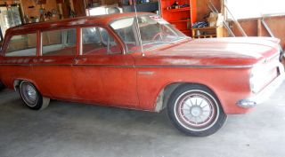 1961 Chevrolet Corvair 700 Lakewood 4 Door Station Wagon photo