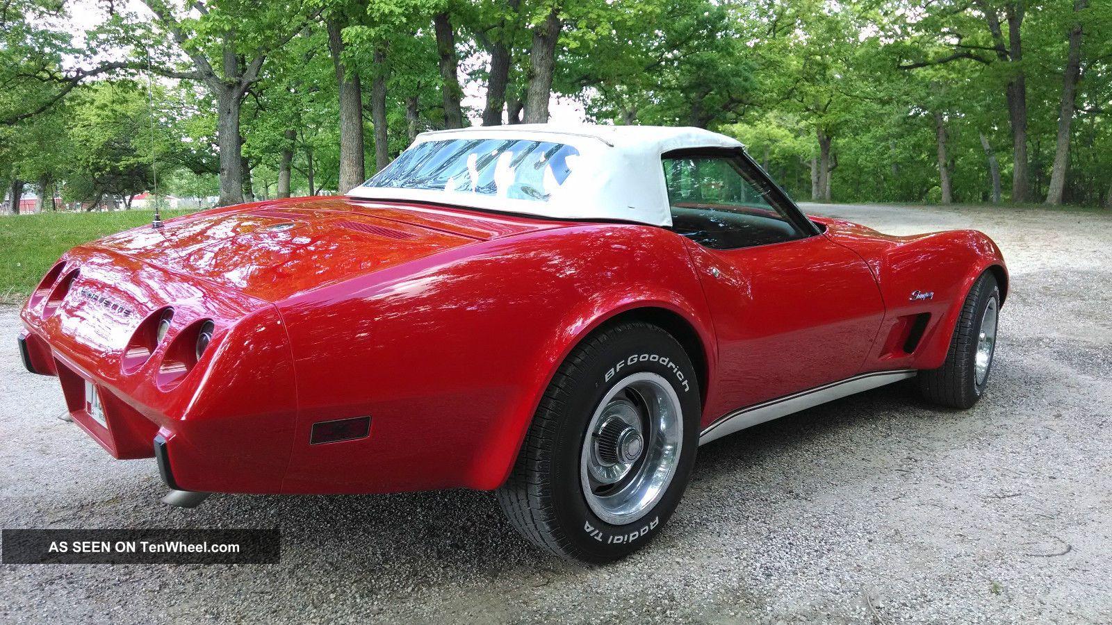 1975 Chevrolet Corvette Convertible L 82