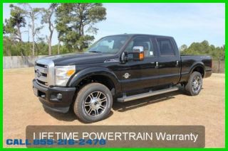 2014 Powerstroke Platinum 4wd And Take Trades photo
