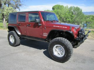 Custom Built 2009 Jeep Wrangler Unlimited Rubicon,  Over $18k In Extras photo