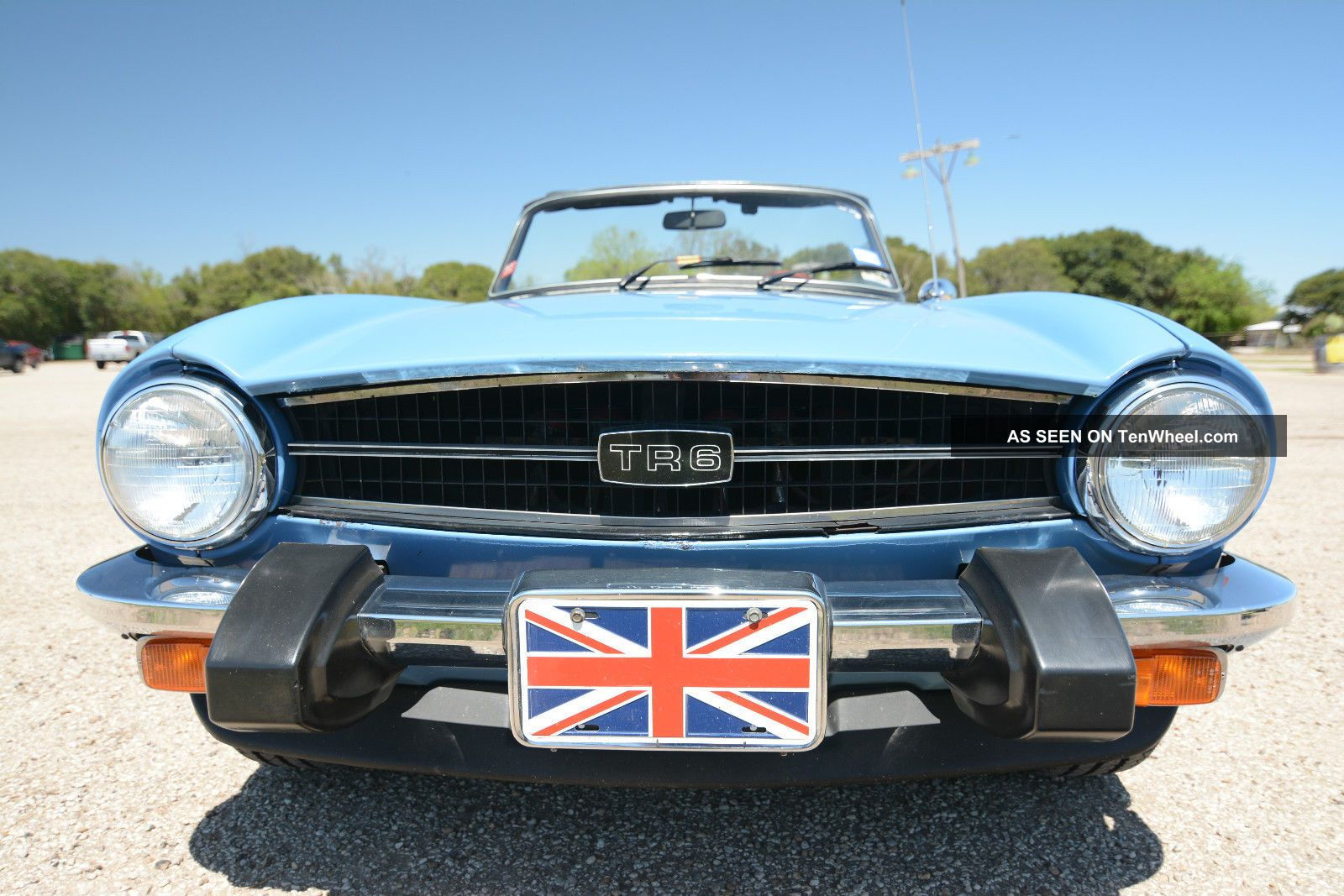 1976 Triumph Tr6 2nd Owner Same Family,  Always Garage Kept & TR-6 photo