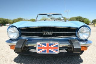 1976 Triumph Tr6 2nd Owner Same Family,  Always Garage Kept & photo