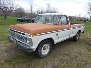 1976 Ford Pick Up Truck,  Rust, photo