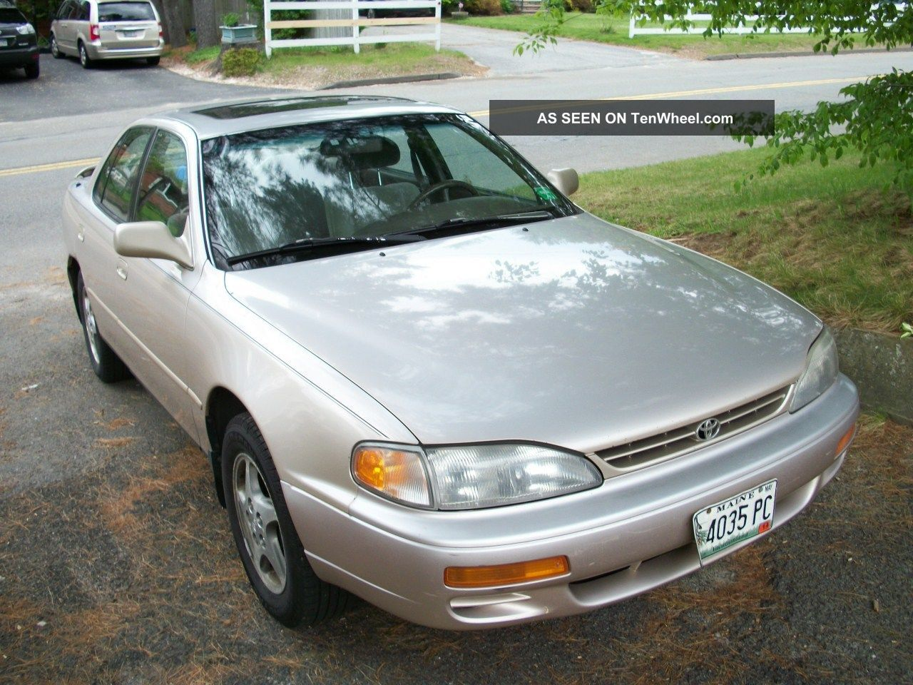 1996 Toyota Camry Camry V6le Gold Chrome Wheels Automatic 3l V6 Camry photo