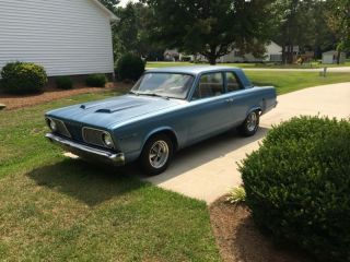 1966 Plymouth Valiant Base 2.  8l,  2 Door Sedan photo