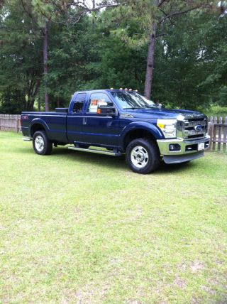 2011 Ford F - 250 Duty Xlt Extended Cab Pickup 4 - Door 6.  2l Fully Loaded photo