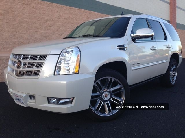 2012 Cadillac Escalade Premium Sport Utility 4 - Door 6.  2l Escalade photo