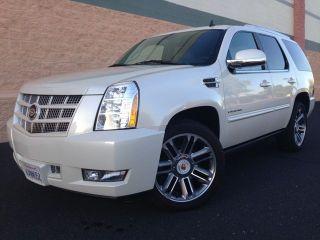 2012 Cadillac Escalade Premium Sport Utility 4 - Door 6.  2l photo