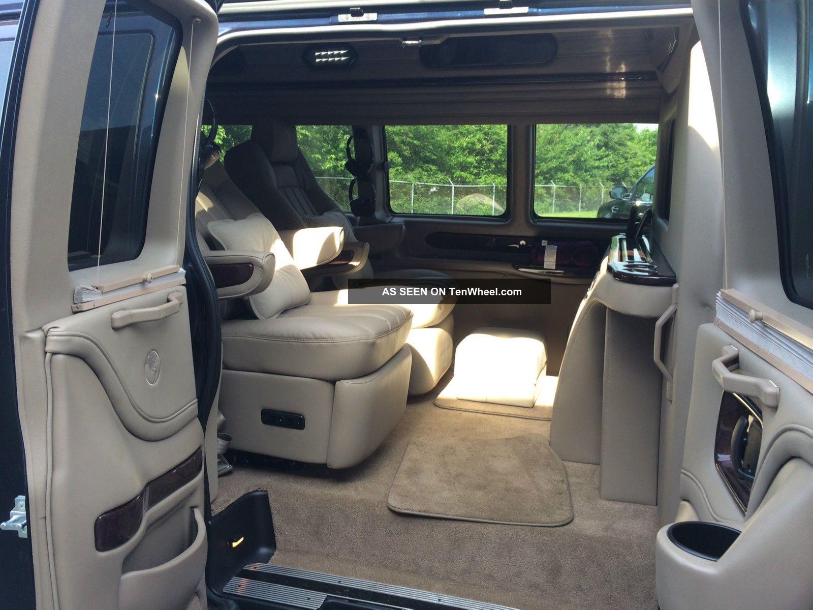 2013 Gmc Savana 2500 Executive Conversion Van