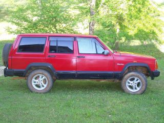 1996 Jeep Cherokee Factory Right Hand Drive Rhd Postal 4x4 4 Door photo