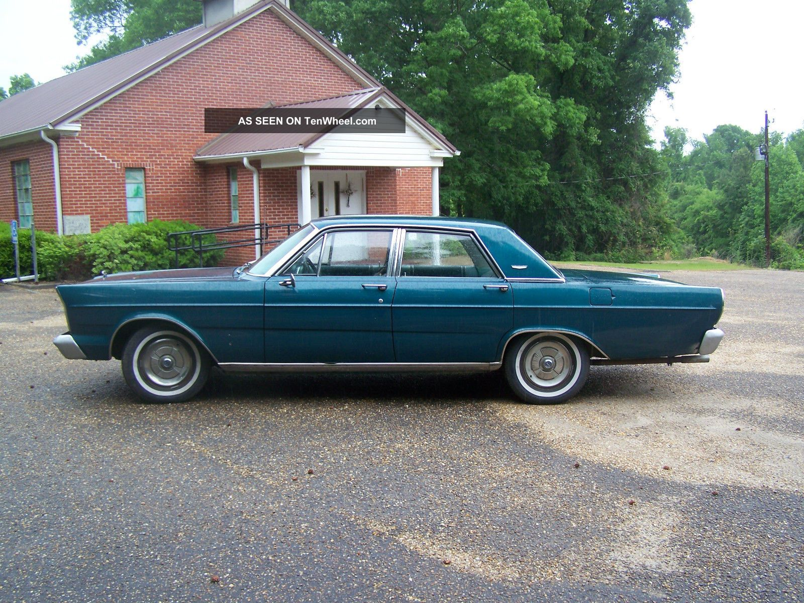 1965 Ford Galaxie 500 4 Door With 390 4 Barrel And Automatic Trans