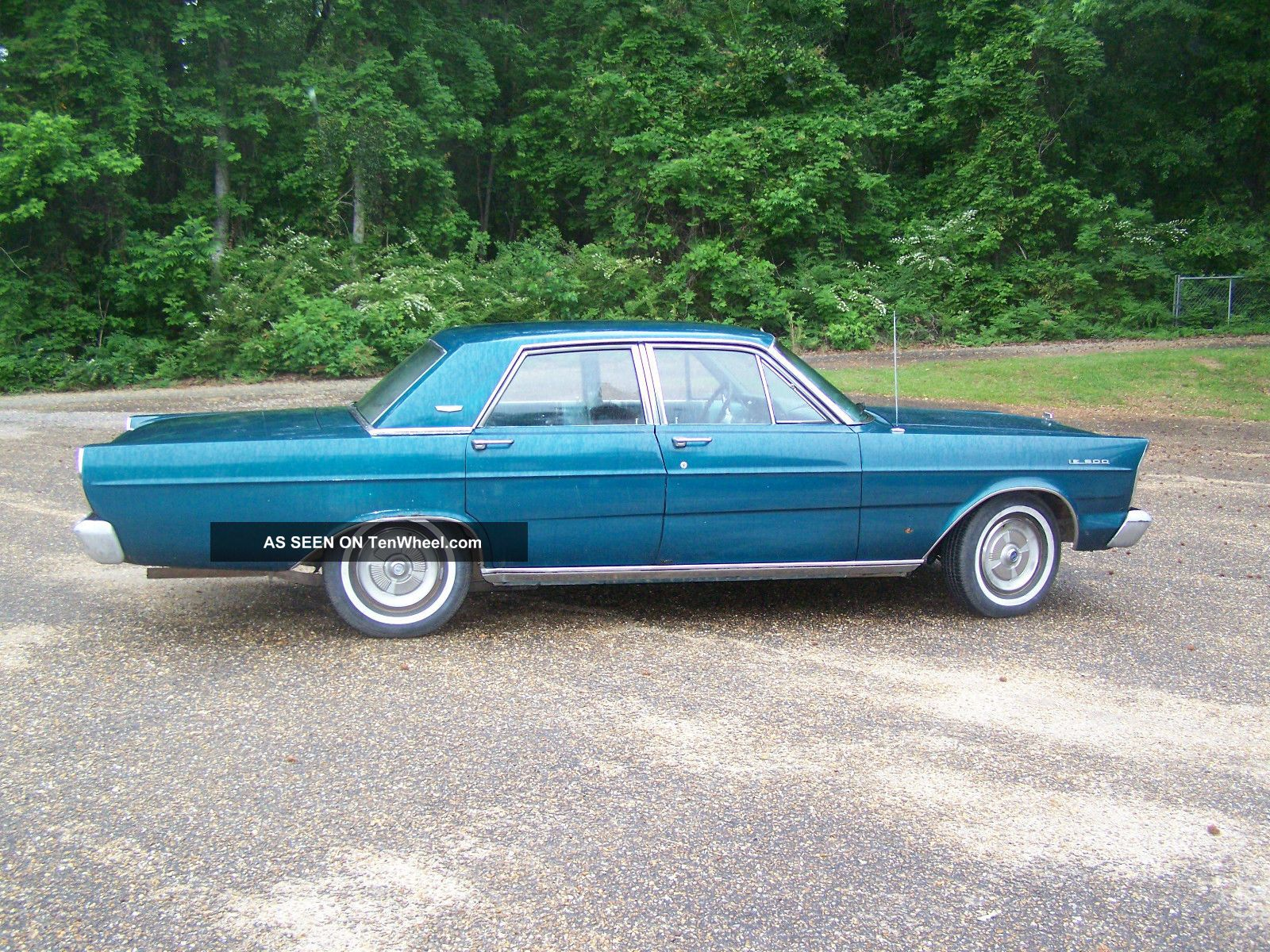 1965 Ford Galaxie 500 4 Door With 390 4 Barrel And ...  1965 Ford Galax...