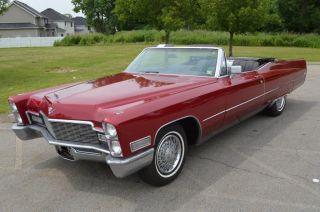 1968 Cadillac Deville Convertible photo