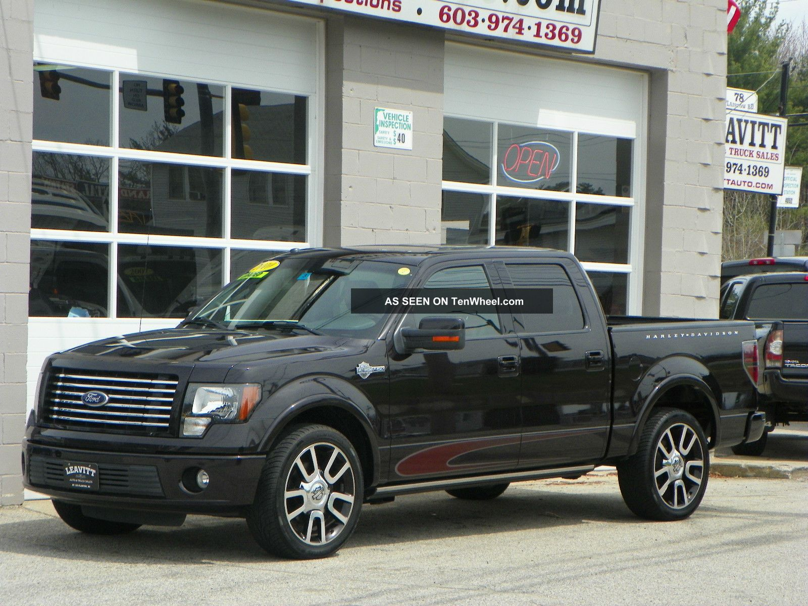 ford f 150 harley davidson edition crew cab pickup 4 door 5 2012 ford