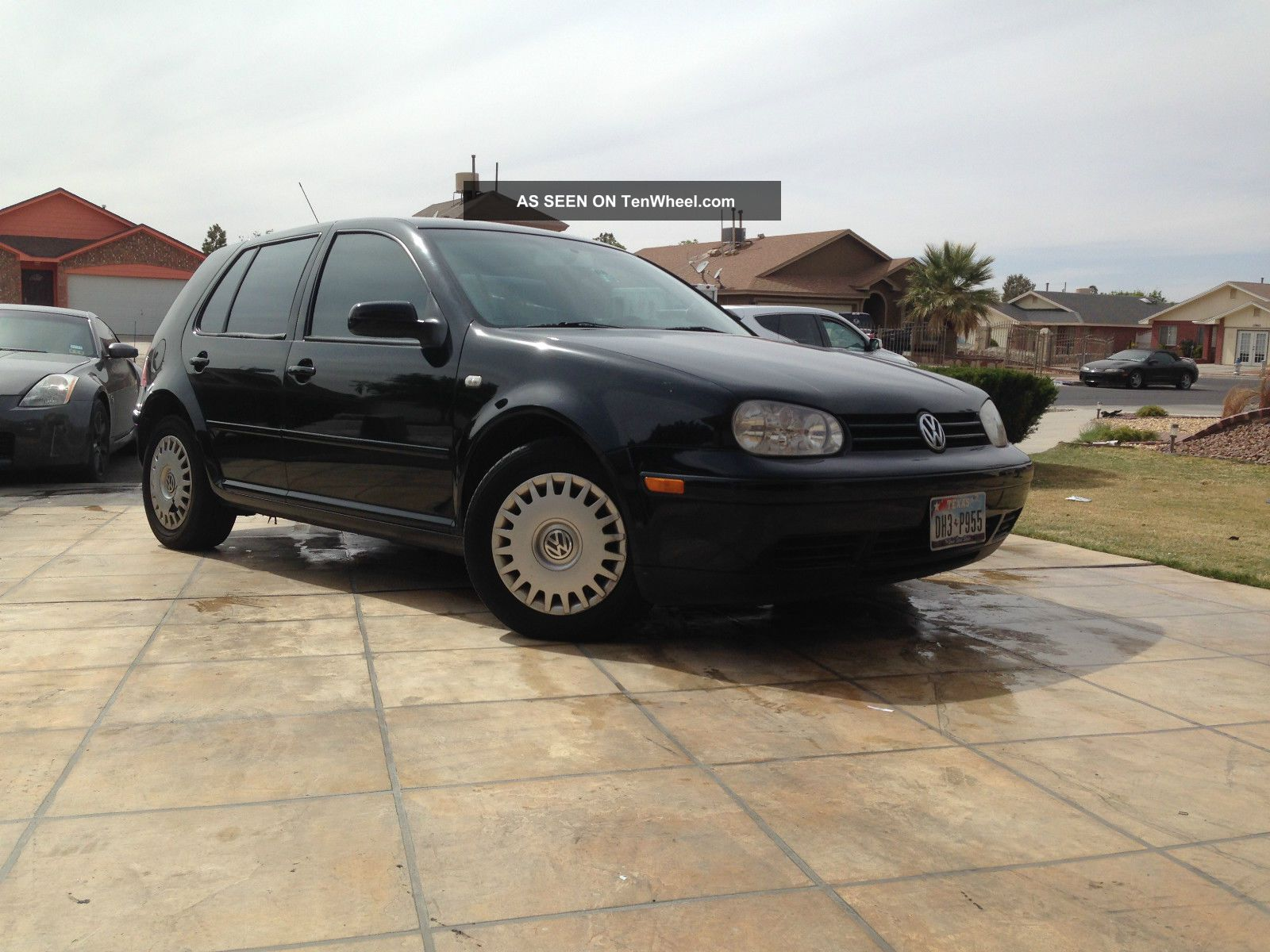 2001 volkswagen golf gls hatchback 4 door 1 8l. Black Bedroom Furniture Sets. Home Design Ideas