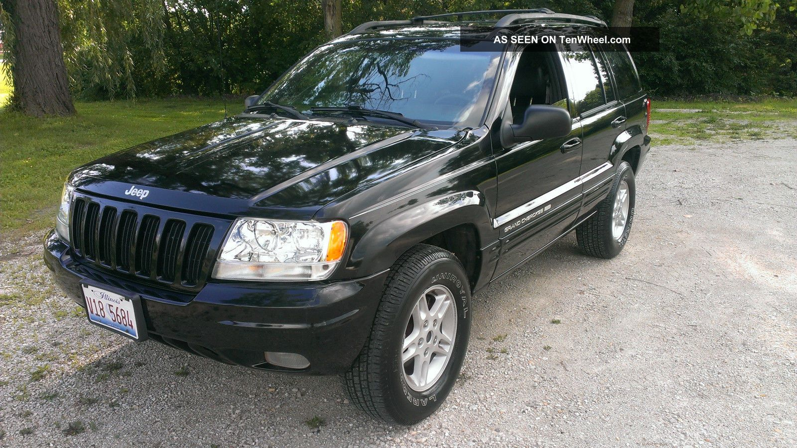 2000 Jeep Grand Cherokee Limited V8 Loaded Black On Black Fresh Engine Grand Cherokee photo